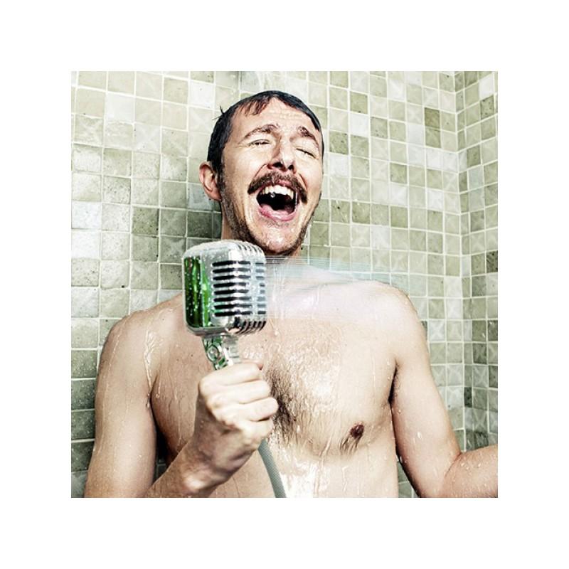 Pommeau de douche en forme de micro - Micro salle de bain ...