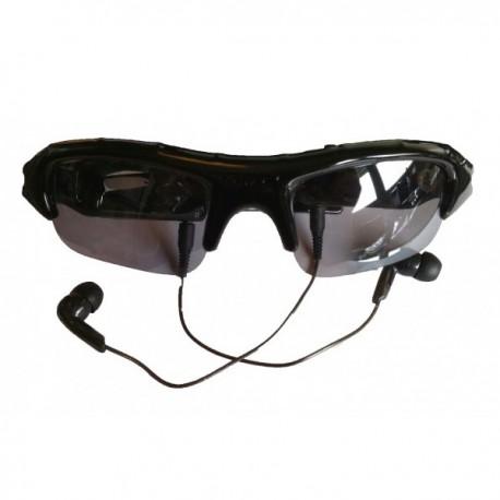 Paire de lunettes de soleil caméra Mp3