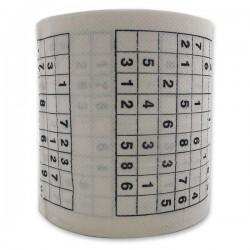 Rouleau de papier toilettes Sudoku