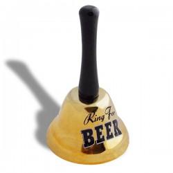Clochette pour sonner le moment de prendre une bière