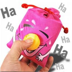 Porte-clés avec clown rieur