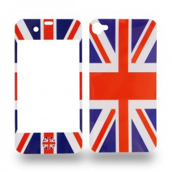 Sticker pour iPhone 4 motif drapeau britannique