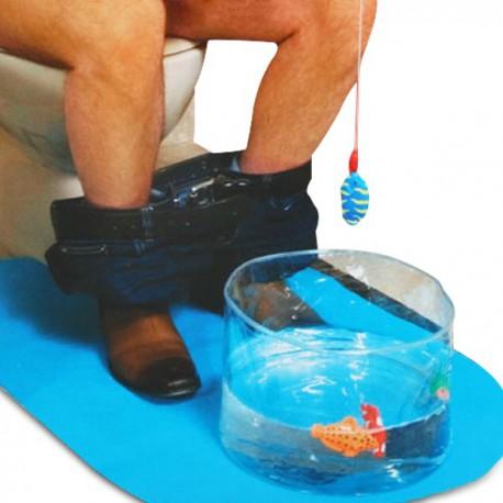 Kit de partie de pêche pour toilettes