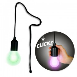 Lampe ampoule rétro à piles