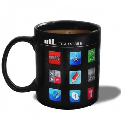 Tasse thermique applications smartphone