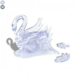 Puzzle cygne en 3D décoratif