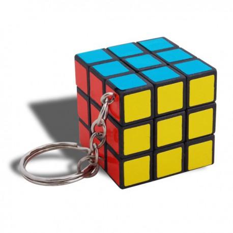Porte-clés puzzle rubiks cube à jouer