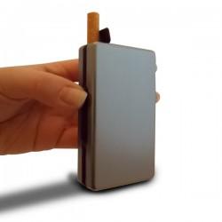 Boîte à cigarettes avec distributeur automatique