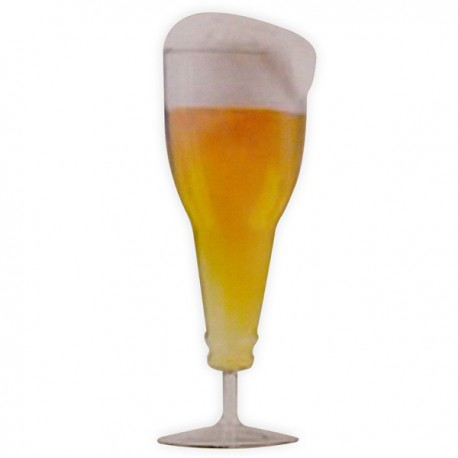 Chope de bière Bouteille inversée