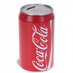 Tirelire canette de coca-cola