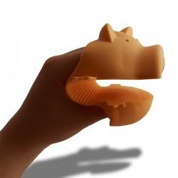 Gant manique en forme de tête de cochon