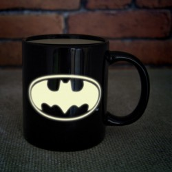 Mug en céramique logo Batman Phosphorescent