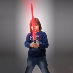 Sabre laser lumineux et sonore en plastique