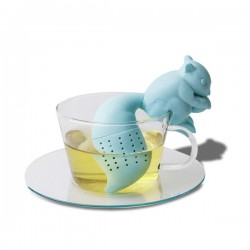 Infuseur thé écureuil en silicone
