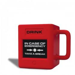 Mug « En cas d'urgence, prenez une pause »