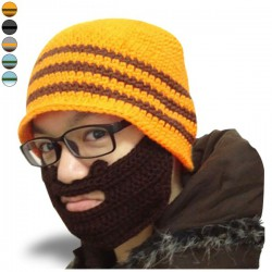 Bonnet à barbe amovible