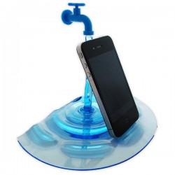 Dock Smartphone iPhone en cascade d'eau