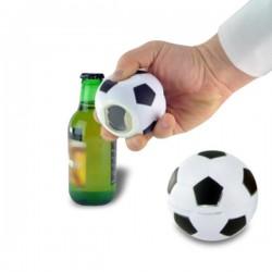 Décapsuleur sonore ballon de football aimanté