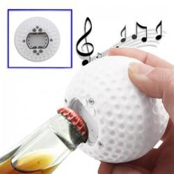 Décapsuleur sonore Balle de golf
