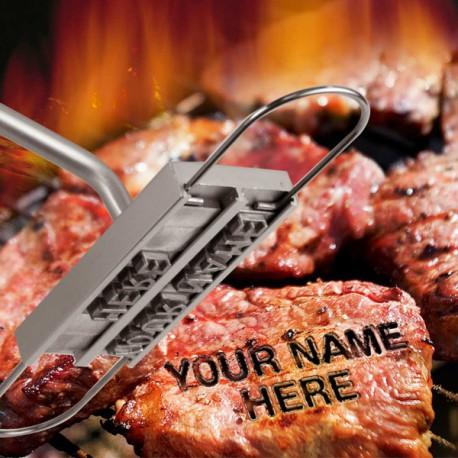 Fer à marquer pour les grillades au barbecue
