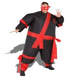 Déguisement de ninja gonflable