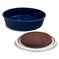 Moule à gâteau rond en silicone