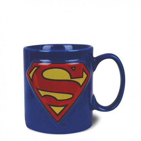 Mug logos en relief Superman