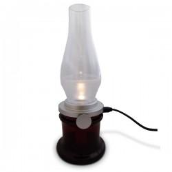 Lampe veilleuse à contrôler avec le souffle