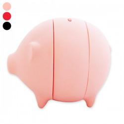 Tirelire en forme de cochon à trancher