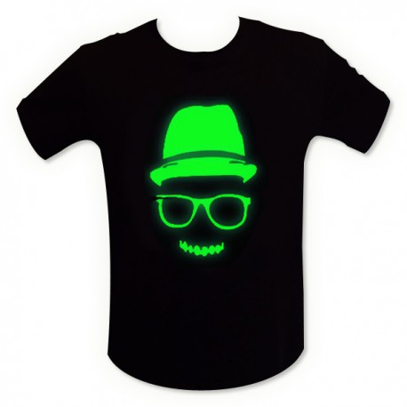 T-shirt phosphorescent mec cool