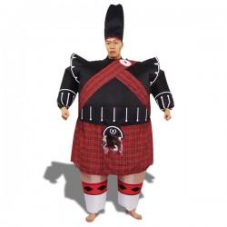 Costume gonflable imitation homme écossais