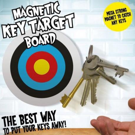 Cible colorée et magnétique pour clés et trousseaux de clés