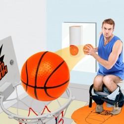 Coffret de jeu de basket miniature pour toilettes
