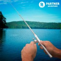 Coffret d'équipement de pêche avec canne stylo extensible