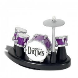 Kit de batterie à jouer avec les doigts