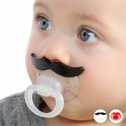 Tétine moustache pour enfant