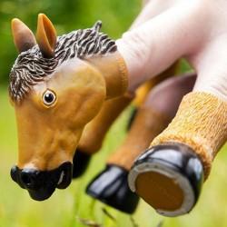 Marionnette pour Doigts en forme de cheval