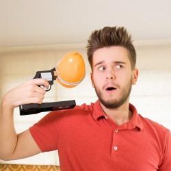 Pistolet roulette russe ballon