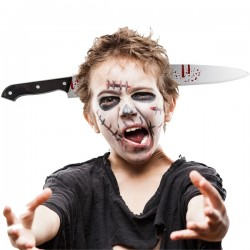 Serre-tête en forme de couteau