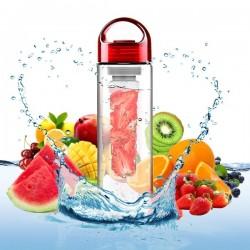 Bouteille avec compartiment pour infusion fruits