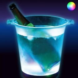 Seau à Glace avec éclairage Led Multicolore