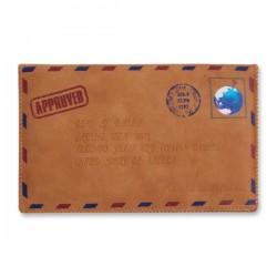 Pochette de protection pour iPhone en forme d'enveloppe vieillie