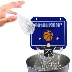 Jeu miniature panier de basket pour corbeille à papiers