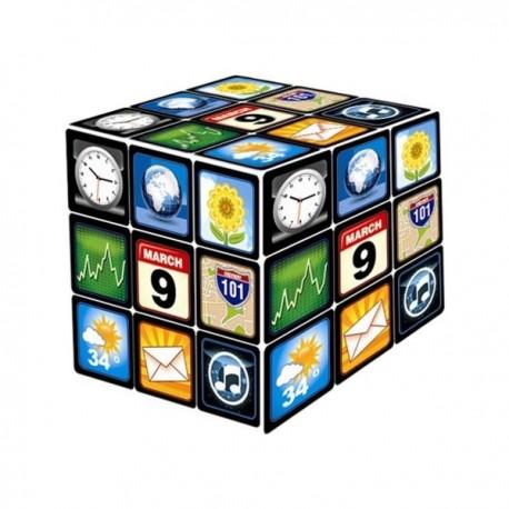 Cube casse-tête avec applications smartphone