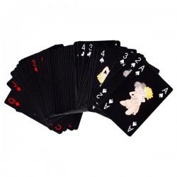 Jeu de 54 cartes avec motif Kamasutra
