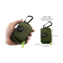 Kit de survie et d'urgence (29 accessoires)