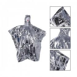 Poncho de Survie avec capuche en Aluminium