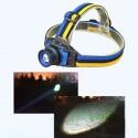 Lampe Frontale avec 4 modes d'éclairage rechargeable waterproof
