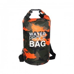 Sac waterproof à sangles ajustables 15L