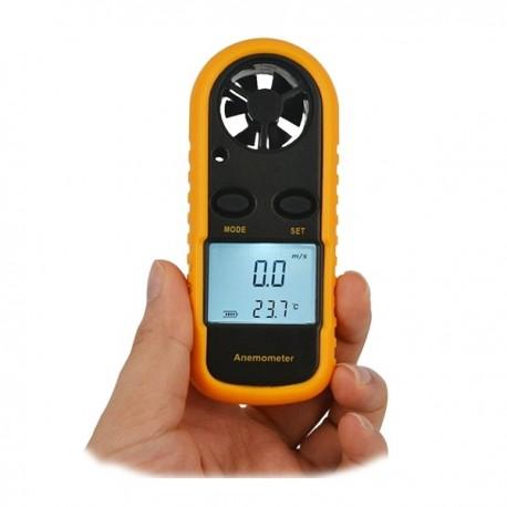 Anémomètre et Thermomètre portatif à écran digital